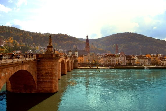 Heidelberg on the Neckar River