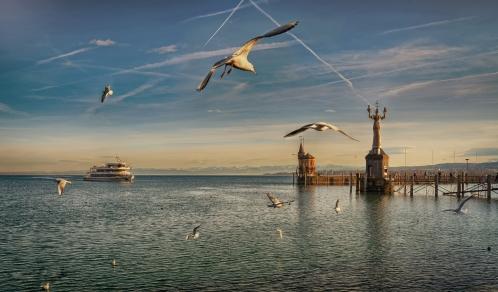 Lake Constance Harbor