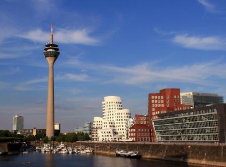 Dusseldorf Rhine Tower