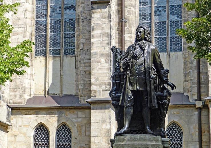 Bach statue