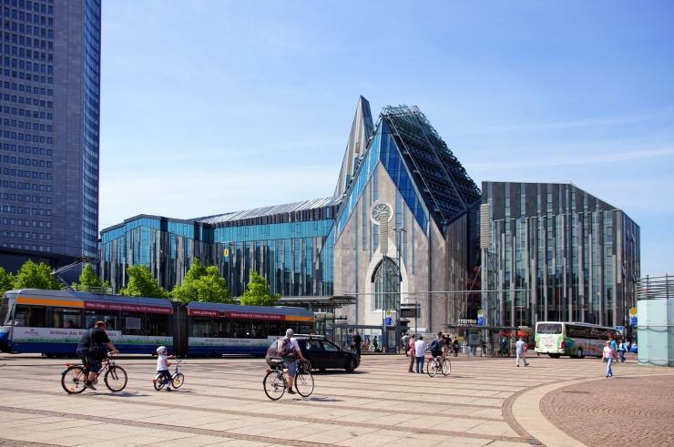 Leipzig modern university chruch