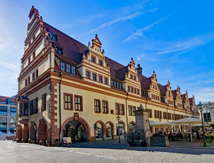 Old Town hall leipzig