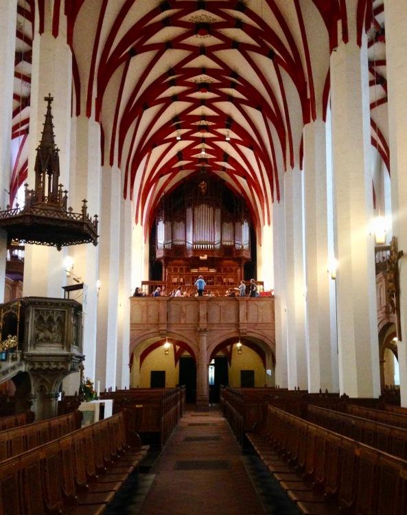 Thomaskirche rehearsal copy