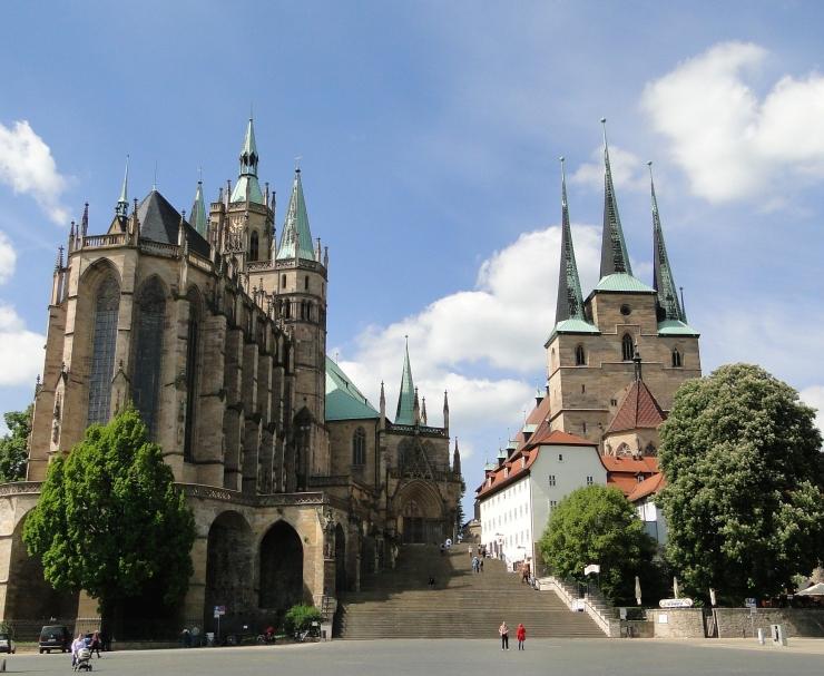 erfurt cathedrals