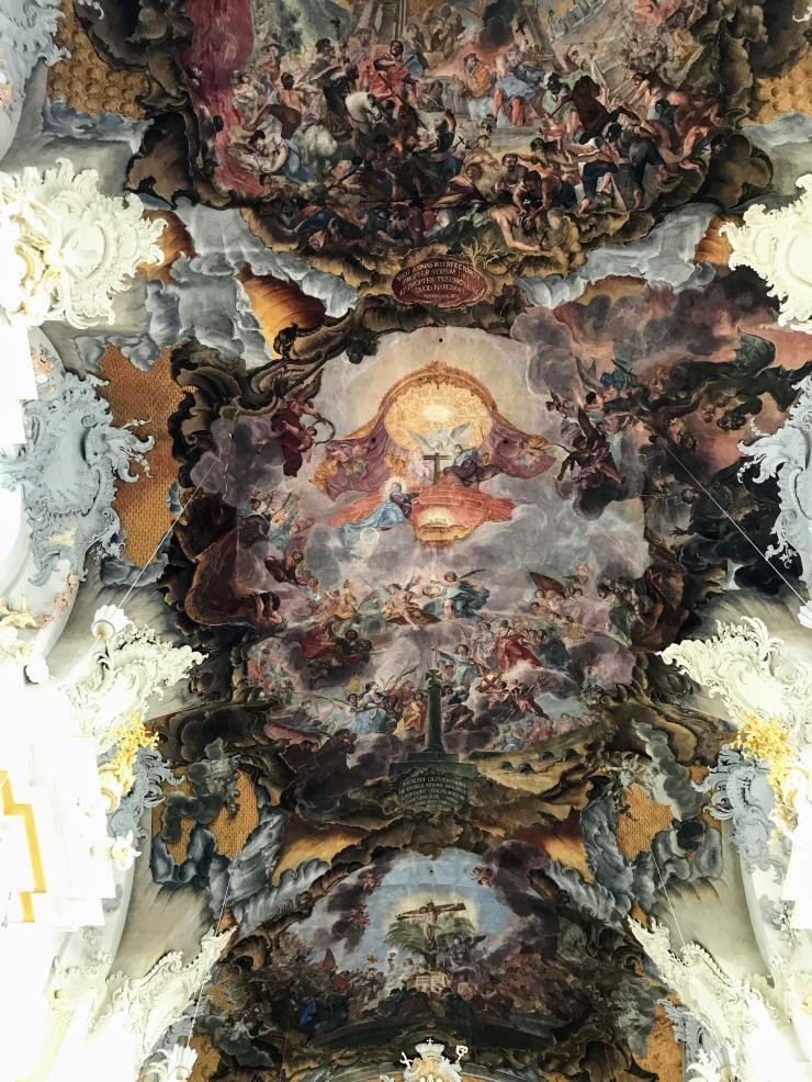 St. Paulinus ceiling